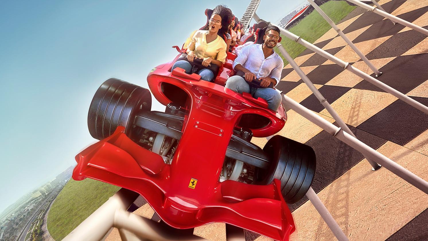 Formula Rossa At Ferrari World Abu Dhabi