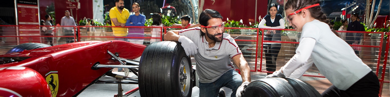 Tyre Change Experience