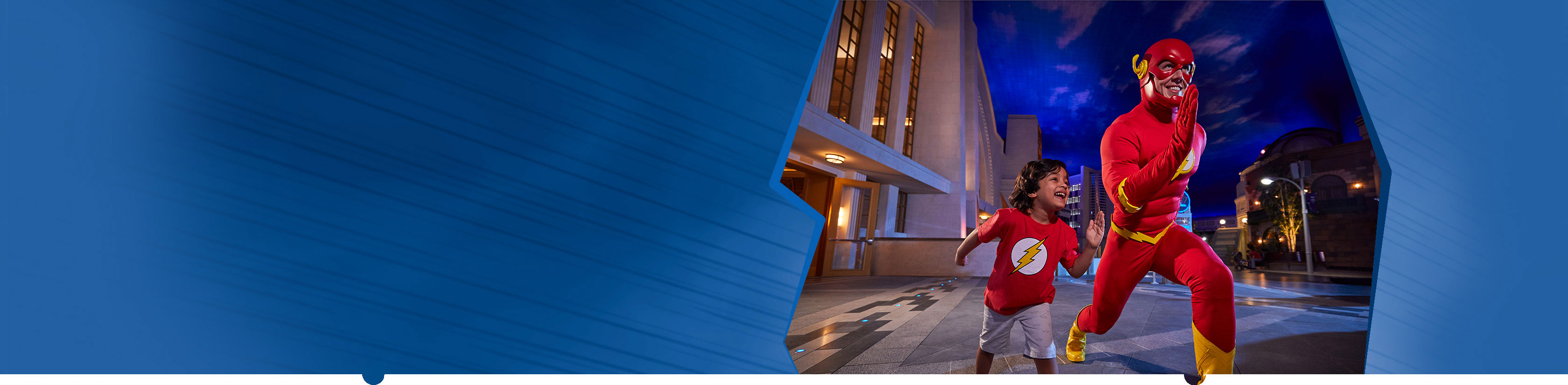 Meet The Flash at Warner Bros. World Abu Dhabi