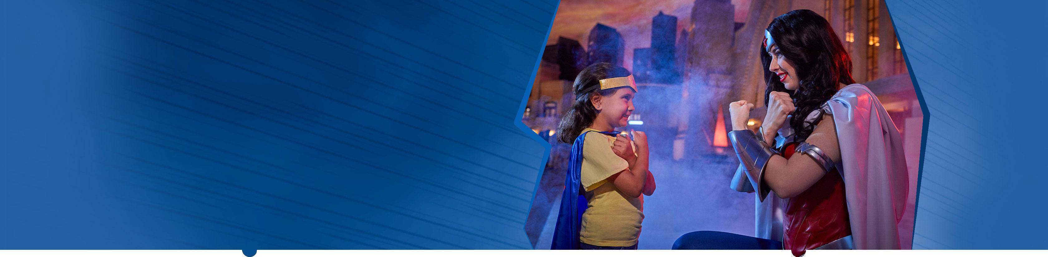 Meet Wonder Woman at Warner Bros. World Abu Dhabi