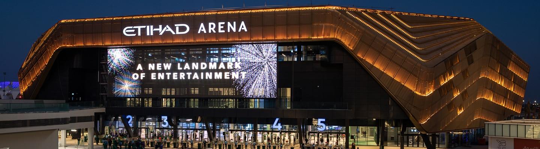 Etihad Arena, a new landmark of entertainment