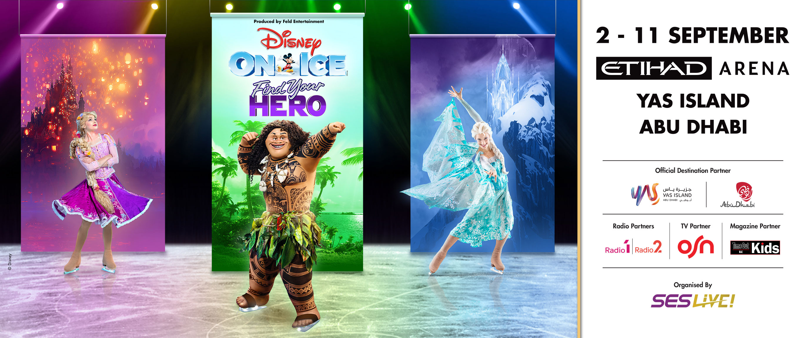 Disney On Ice presents Find your Hero