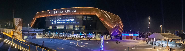 Image of Etihad Arena, Yas Bay, Yas Island, Abu Dhabi