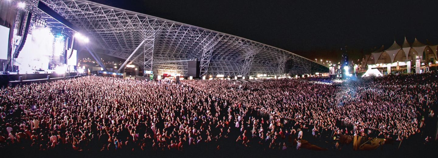 Image of Du Arena, Yas Island, Abu Dhabi