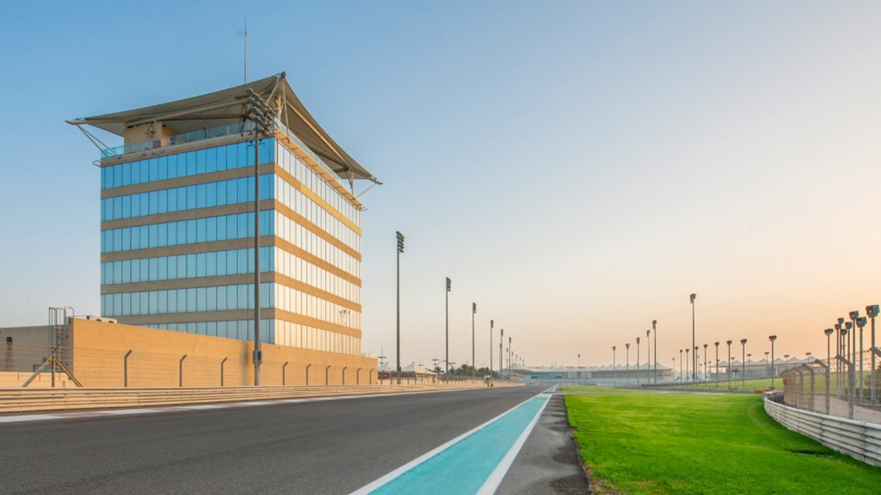Trackside Terrace event venue close to Yas Marina Circuit F1 track