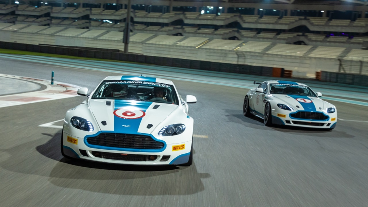 Aston Martin Gt4 Driving Experiences Yas Marina Circuit