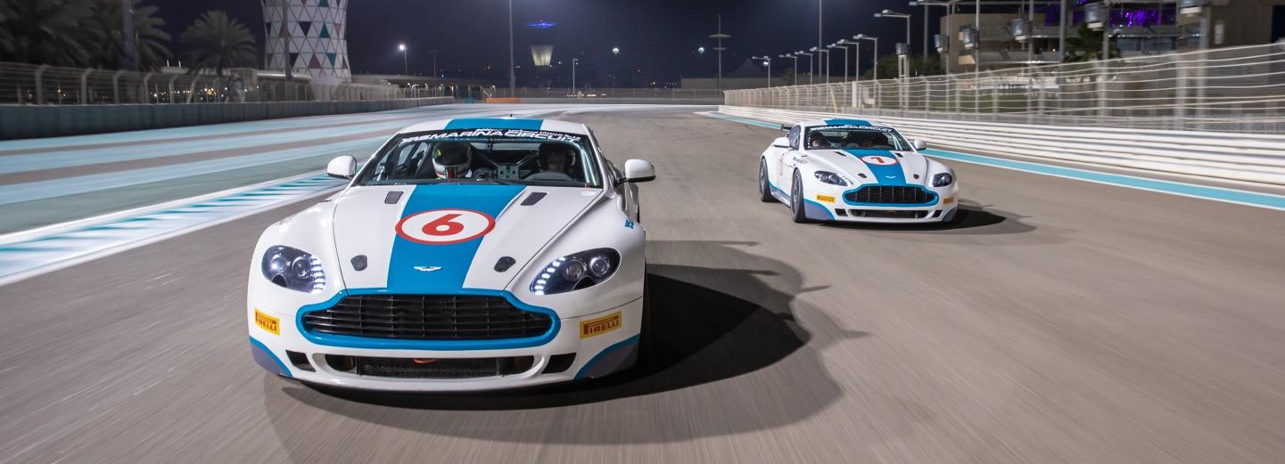Aston Martin GT4 driving experienc