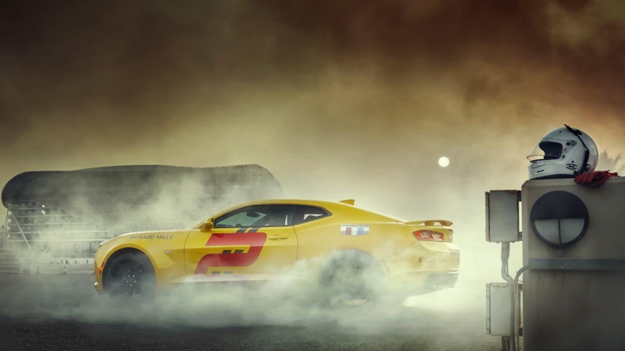 Chevrolet Camaro passenger expe
