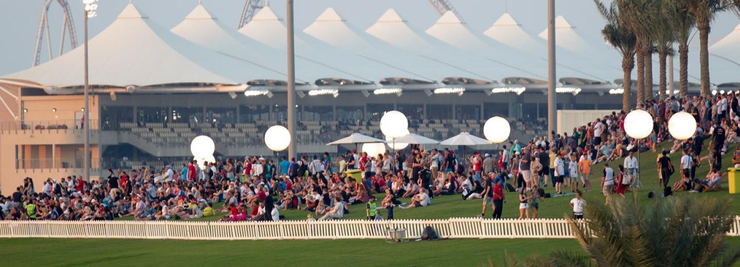 Images of Yas Marina Circuit during Abu Dhabi Grand Prix
