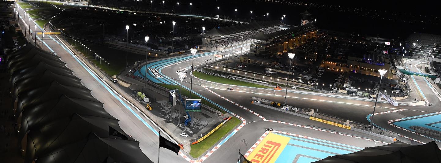 GP Corkscrew Circuit at night